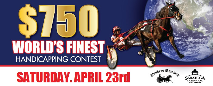 $750 World's Finest Handicapping Contest Apr 23, 2016