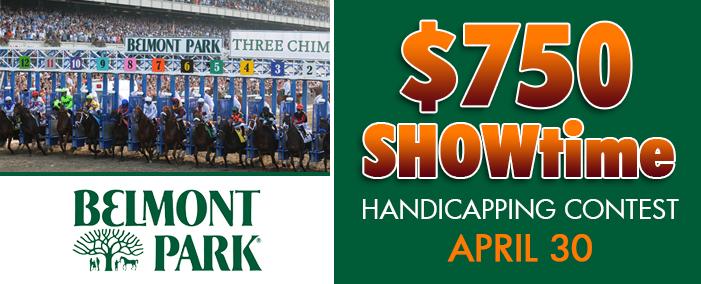 $750 Showtime Contest Apr 30 2016