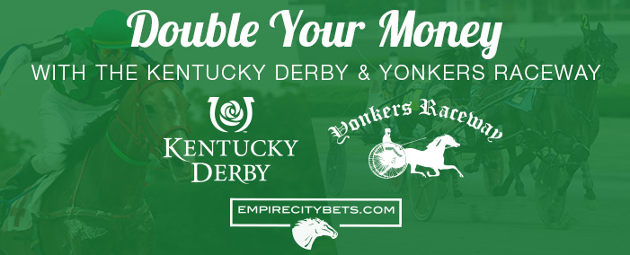 Double your money on Derby Day!