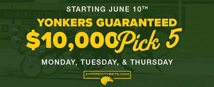 Yonkers Guaranteed P5