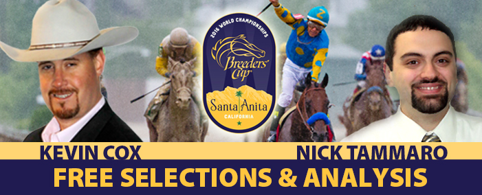 Breeders Cup Selection and Analysis