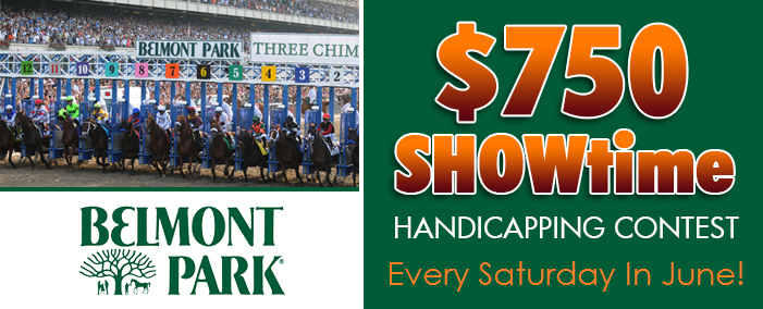 $750 Showtime Handicapping Contest