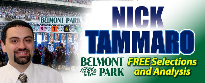 Nick Tammaro Belmont Park