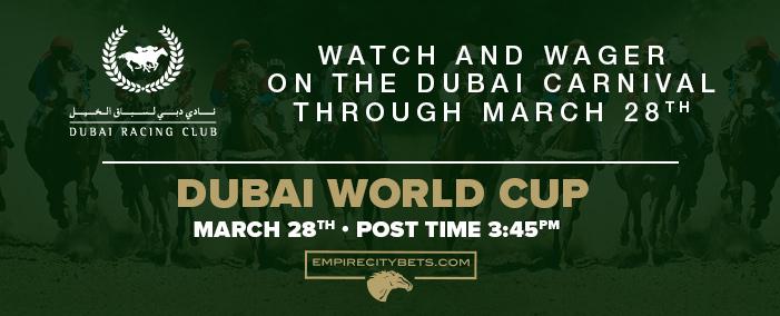 Dubai World Cup March 28
